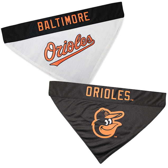 Pets First Baltimore Orioles Reversible Bandana for Dogs, Small/Medium - Carousel image #1