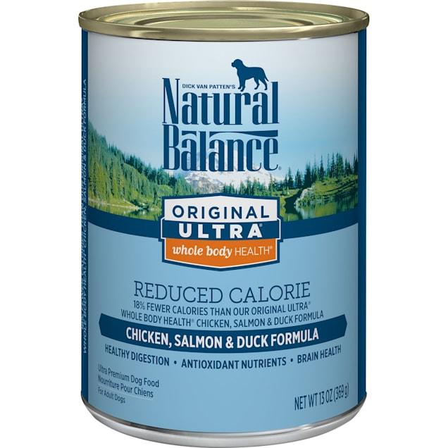 Natural Balance Original Ultra Calorie Chicken, Salmon & Duck Wet Dog Food, 13 oz., Case of 12 - Carousel image #1