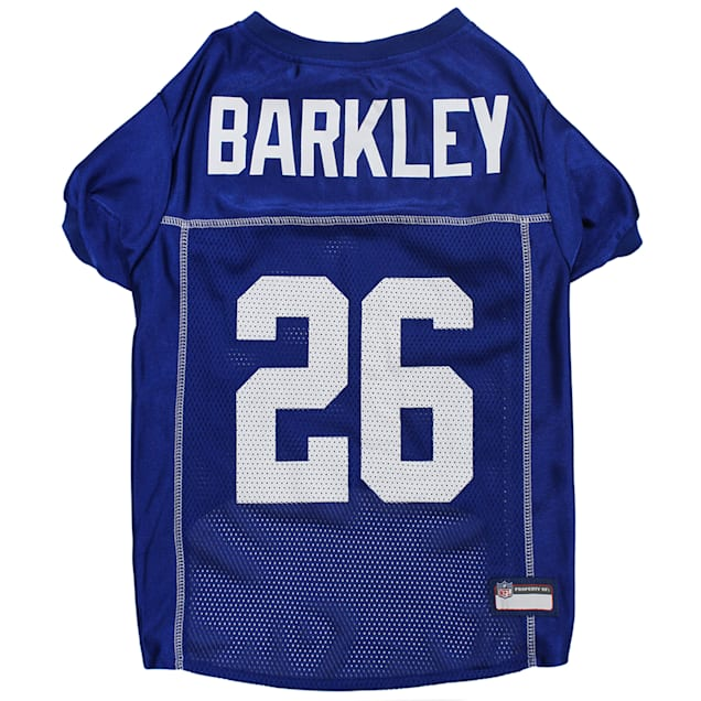 Pets First Saquon Barkley Jersey (NYG) for Dogs, X-Small - Carousel image #1