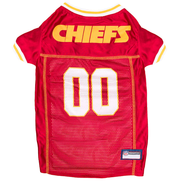 Pets First Kansas City Chiefs Mesh Jersey for Dogs, XX-Large - Carousel image #1