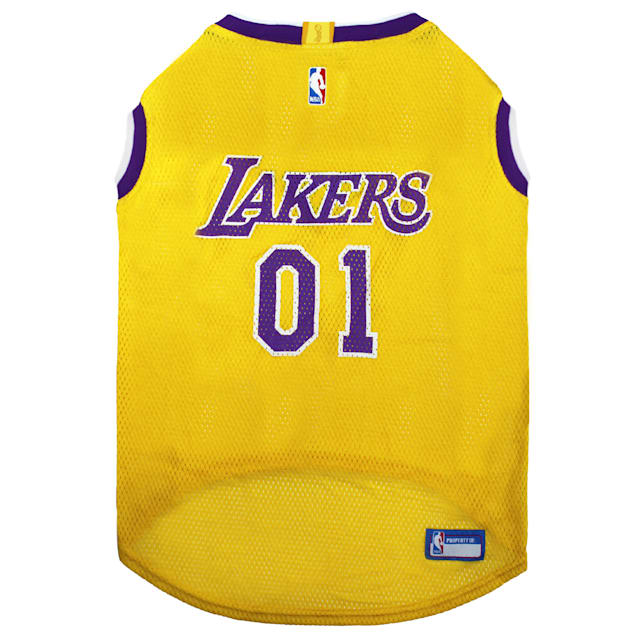 Pets First La Lakers Basketball Mesh Jersey for Dogs, X-Large - Carousel image #1