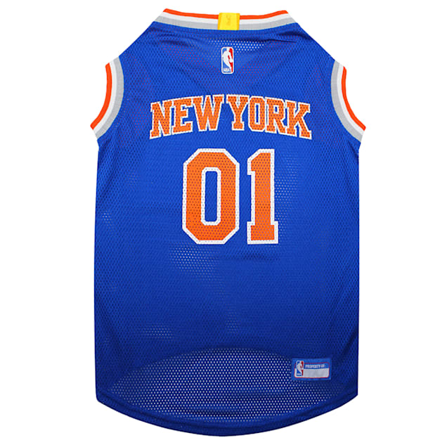 Pets First New York Knicks Basketball Mesh Jersey for Dogs, X-Small - Carousel image #1