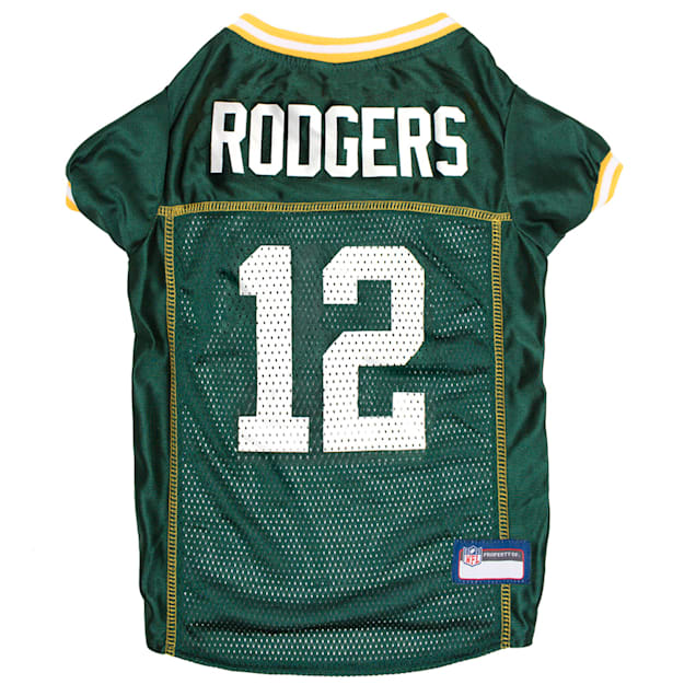 Pets First Aaron Rodgers Jersey (GBP) for Dogs, X-Small - Carousel image #1