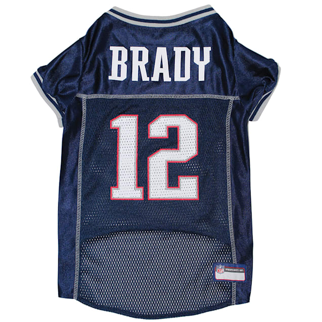 Pets First Tom Brady Jersey (NEP) for Dogs, X-Small