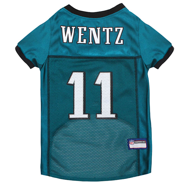 Pets First Carson Wentz Jersey (PHL) for Dogs, X-Small - Carousel image #1