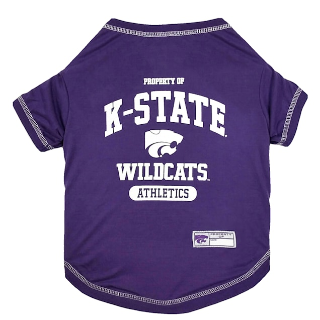 Pets First Kansas State Tee Shirt for Dogs, X-Small - Carousel image #1