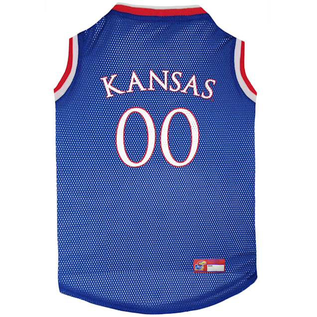 Pets First Kansas Basketball Jersey for Dogs, X-Small - Carousel image #1