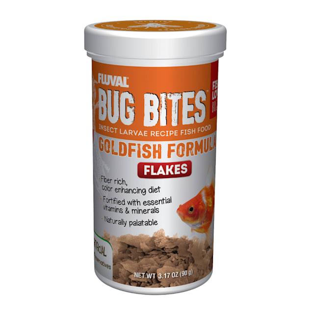 Fluval Bug Bites Goldfish Flakes, 3.17 oz. - Carousel image #1