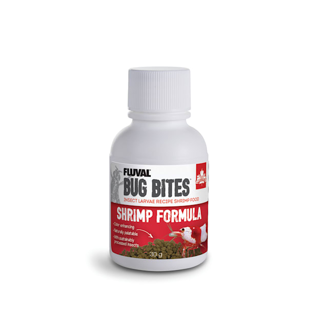 Fluval Bug Bites Shrimp Formula, 1.06 oz. - Carousel image #1