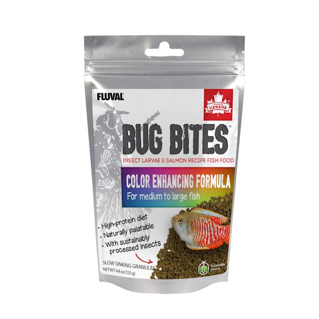 Fluval Bug Bites Color Enhancer Granules, 4.4 oz. - Carousel image #1