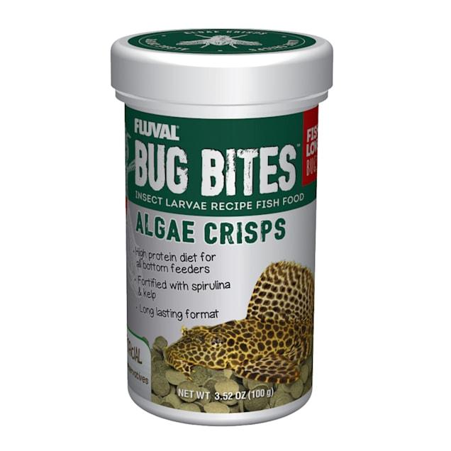 Fluval Bug Bites Algae Crisps, 3.52 oz. - Carousel image #1