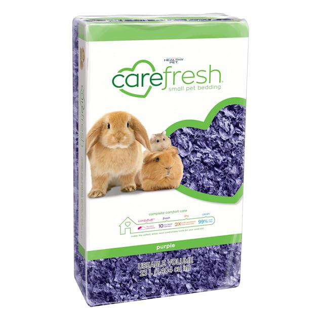 Carefresh Playful Purple Small Pet Bedding, 23 Liter - Carousel image #1