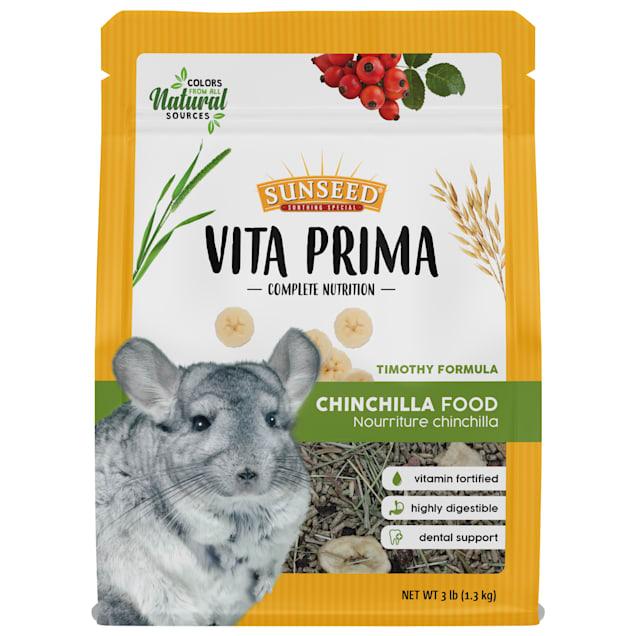 Sun Seed Vita Prima Chinchilla Food, 3 lbs. - Carousel image #1