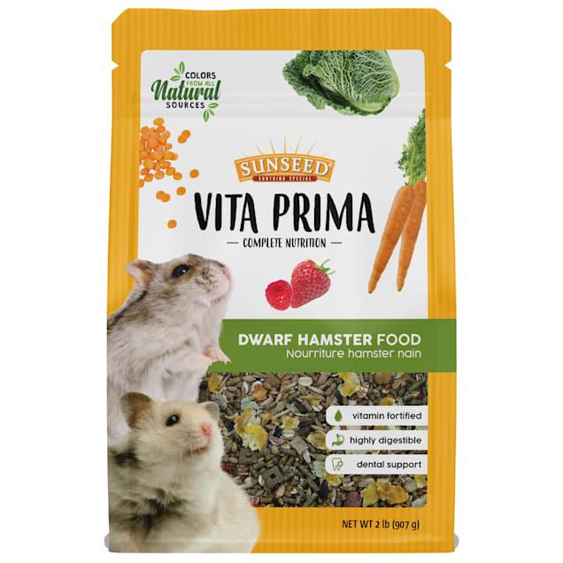 Sun Seed Vita Prima Dwarf Hamster Food, 2 lbs. - Carousel image #1