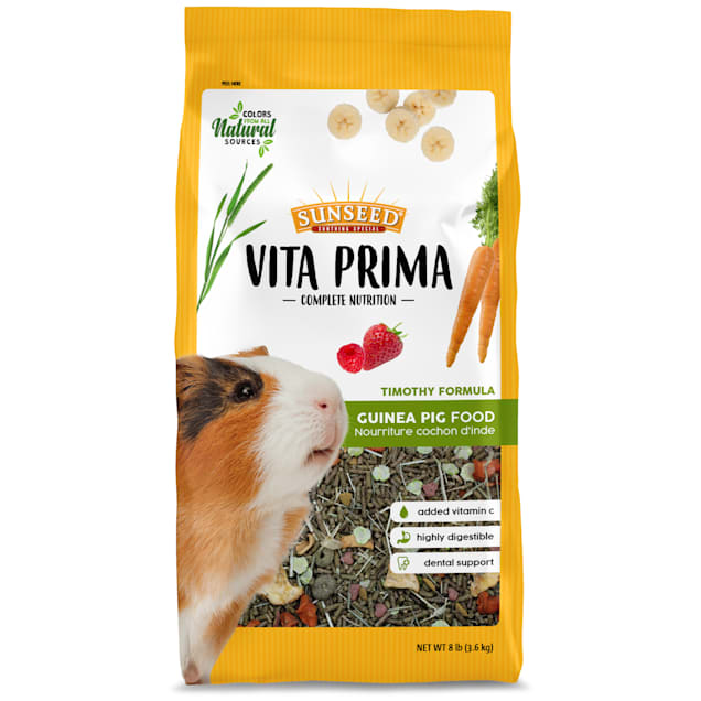 Sun Seed Vita Prima Guinea Pig Food, 8 lbs. - Carousel image #1