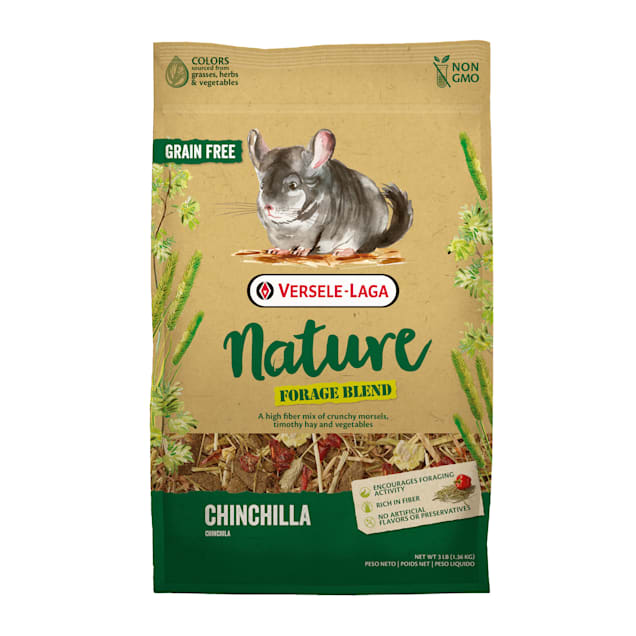 Versele-Laga Nature Forage Blend Chinchilla Food, 3 lbs. - Carousel image #1