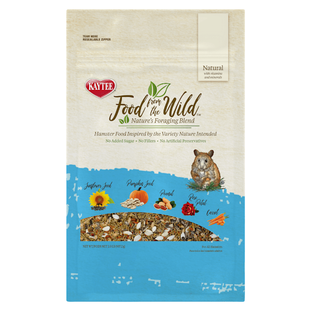 Kaytee Food from the Wild Hamster Food, 2 lbs. - Carousel image #1