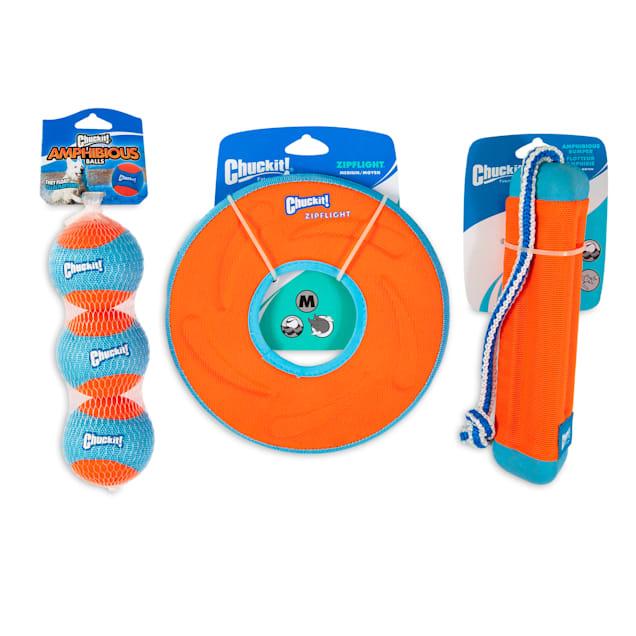 Chuckit! Amphibious Fetch Kit Dog Toys, Large - Carousel image #1