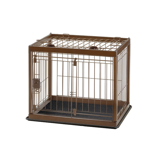"""Richell Wooden Pet Crate, 26.6"""" L X 20.9"""" W X 19.7"""" H - Carousel image #1"""