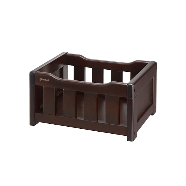 Richell Elegant Wooden Toy Box for Dogs, Small - Carousel image #1