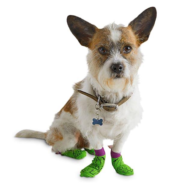 Marvel Hulk Dog Socks, Small - Carousel image #1
