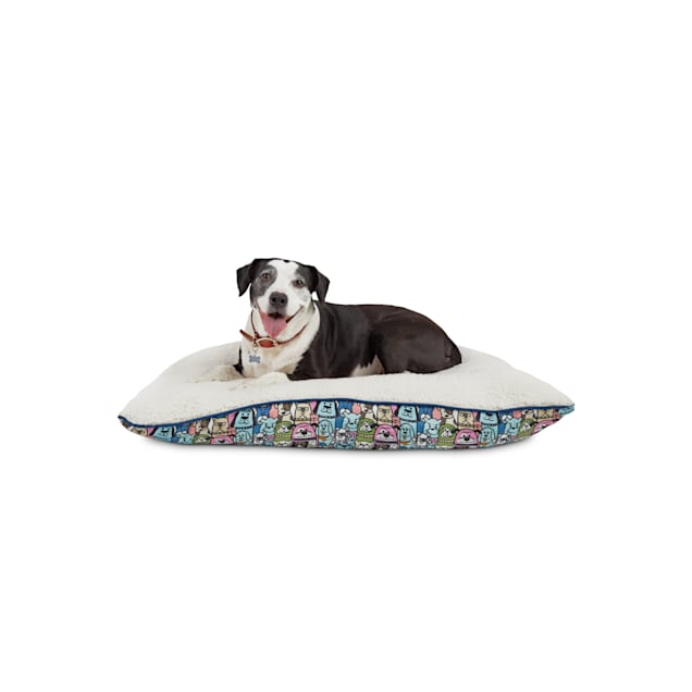 """BOBS from Skechers Doggie Crowd Dog Lounger Bed, 40"""" L X 30"""" W - Carousel image #1"""