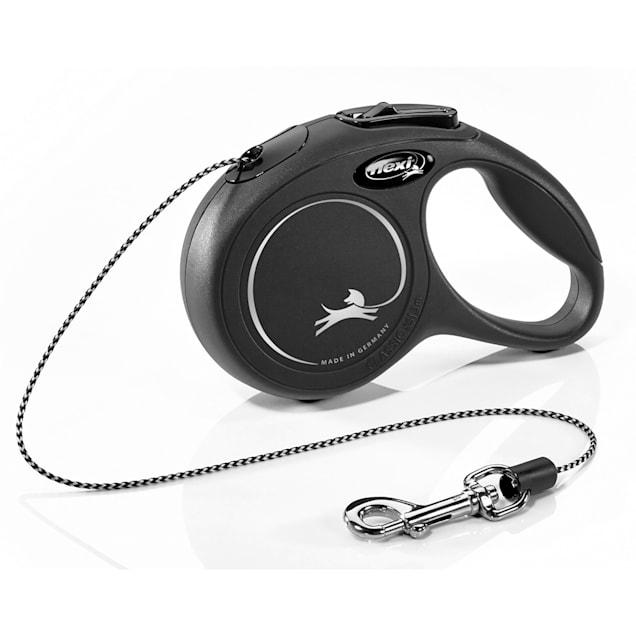 Flexi New Classic Cord Black Retractable Dog Leash, 10 ft. - Carousel image #1