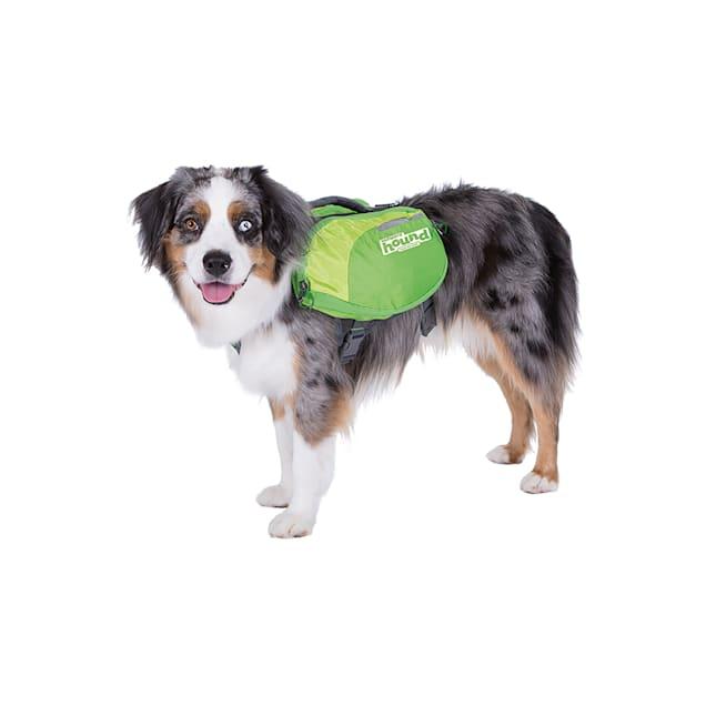 Outward Hound Daypak Green Backpacks for Dogs, Medium - Carousel image #1