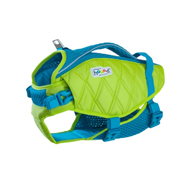 Outward Hound Standley Sport Green Life Jacket for Dogs, X-Small - Carousel image #1