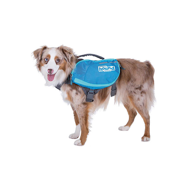 Outward Hound Daypak Blue Backpacks for Dogs, Medium - Carousel image #1