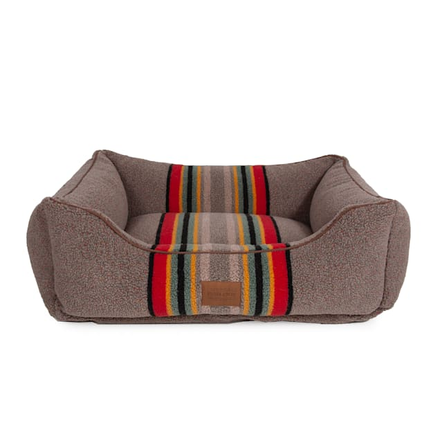 "Pendleton Yakima Camp Mineral Umber Kuddler Dog Bed, 24"" L X 30"" W X 9"" H - Carousel image #1"