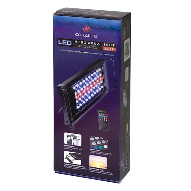 """Coralife Seascape Mini LED Aqualight, 12""""-18"""" L - Carousel image #1"""