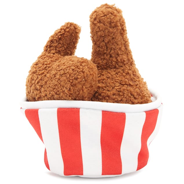 BARK Bucket O' Fried Licken Dog Toy, Small - Carousel image #1