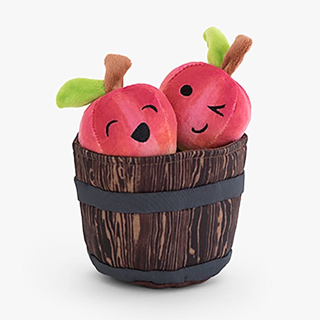 BARK Johnny Apple Squeaks Dog Toy, Small - Carousel image #1