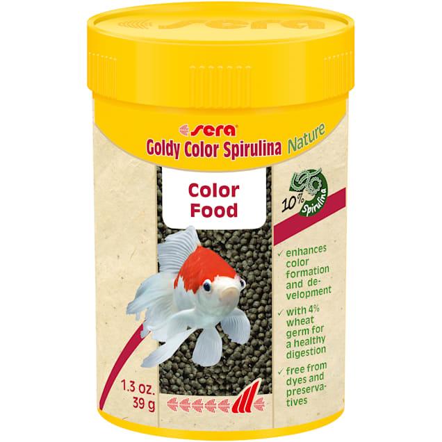 Sera Goldy Color Spirulina Nature Goldfish Food, 1.3 oz. - Carousel image #1