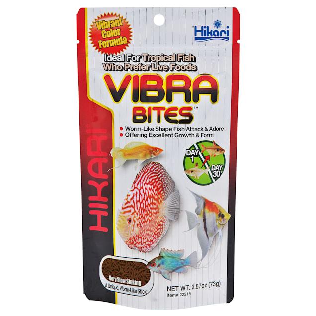 Hikari Vibra Bites Tropical Aquatic Diet, 2.57 oz. - Carousel image #1