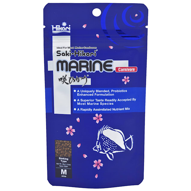 Hikari Saki-Hikari Marine Carnivore Probiotic Enhanced Diet, 1.41 oz. - Carousel image #1