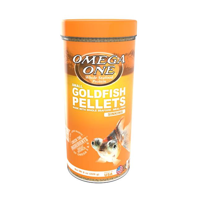 Omega One Sinking Goldfish Pellets, 8 oz. - Carousel image #1