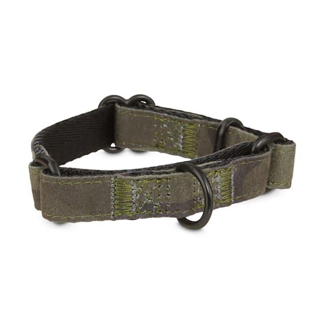 Good2Go Green Camo Microsuede Martingale Dog Collar, X-Small - Carousel image #1