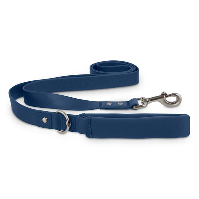 Reddy Navy Durable Dog Leash, 6 ft. - Carousel image #1