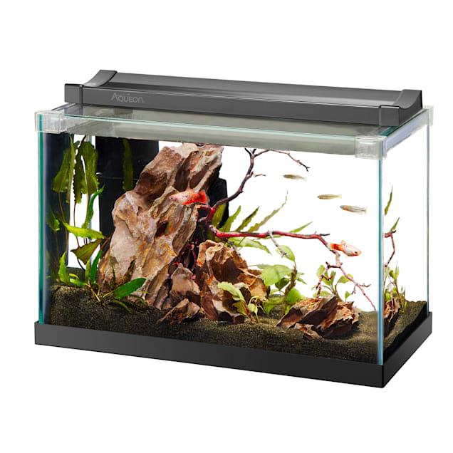 Aqueon Rimless Black Tank Aquarium, 2.5 Gallon - Carousel image #1