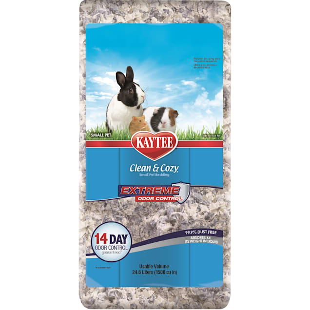 Kaytee Clean and Cozy Extreme Odor Control Small Animal Bedding, 24.6 Liter - Carousel image #1