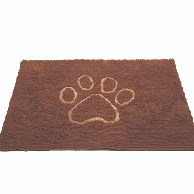 """Dog Gone Smart Dirty Dog Mocha Brown Doormat for Dogs, 31"""" L X 20"""" W - Carousel image #1"""