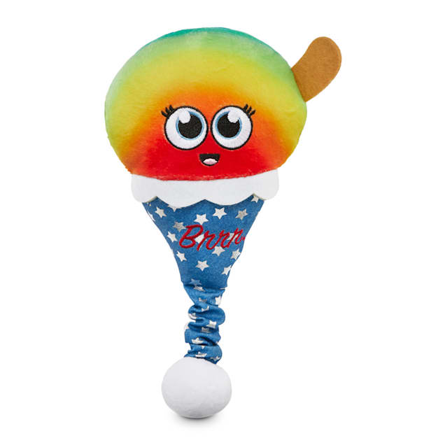 Bond & Co. County Fair Classics Melting For You Snow Cone Bungee Plush Dog Toy, Medium - Carousel image #1