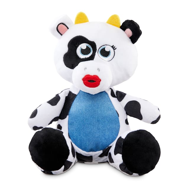 Bond & Co. County Fair Classics A-Moo-Sing Cow Plush Dog Toy, Medium - Carousel image #1