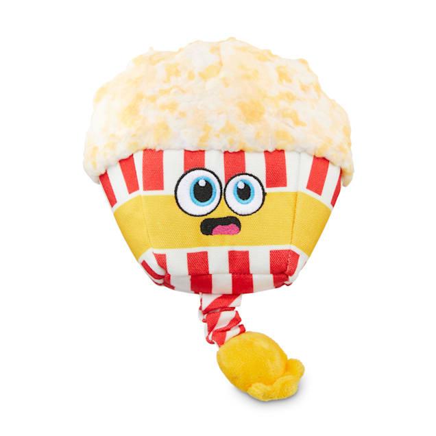 Bond & Co. County Fair Classics Poppin' Fun Popcorn Bungee Plush Dog Toy, Medium - Carousel image #1