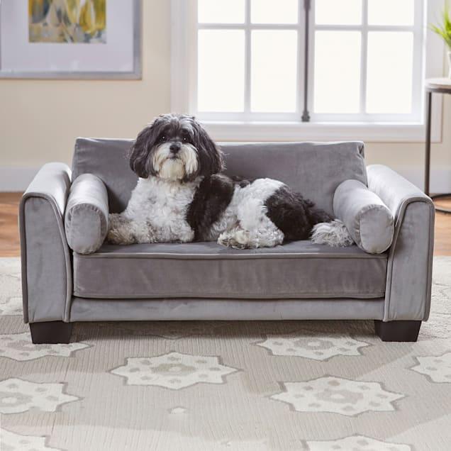 "Enchanted Home Pet Jordan Pet Sofa, 34"" L X 21"" W X 13.5"" H - Carousel image #1"