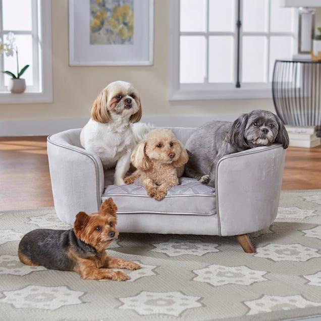 "Enchanted Home Pet Quicksilver Pet Sofa, 33"" L X 22.5"" W X 14"" H - Carousel image #1"