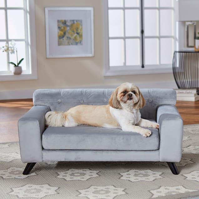 "Enchanted Home Pet Mason Pet Sofa, 34"" L X 21.5"" W X 15.5"" H - Carousel image #1"