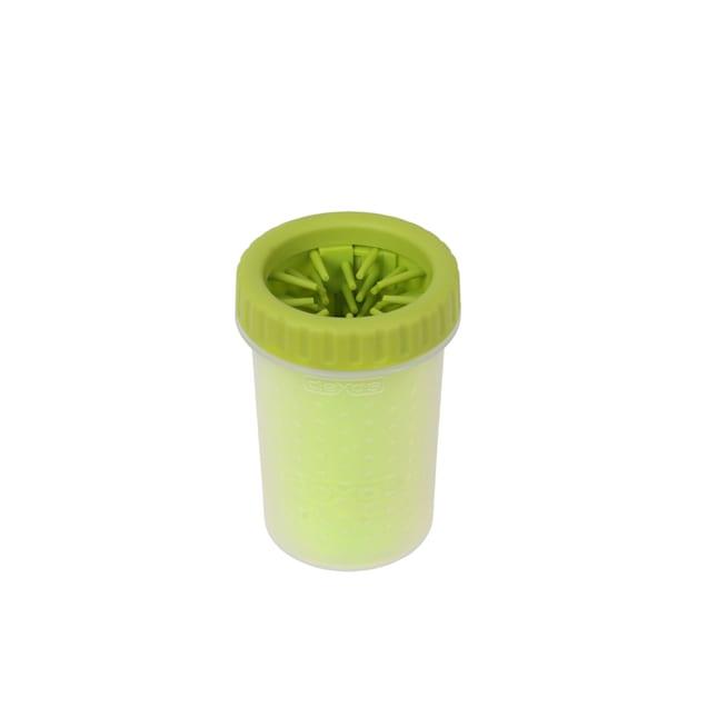 Dexas MudBuster Portable Green Dog Paw Cleaner, Medium - Carousel image #1